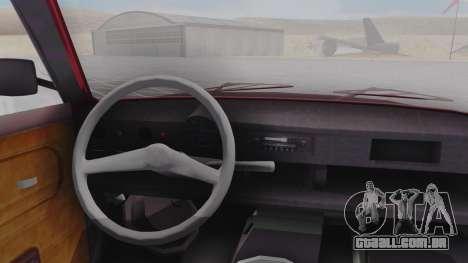 Trabant 601 para GTA San Andreas vista direita