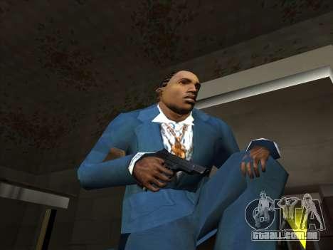 Um conjunto de armas russas para GTA San Andreas terceira tela