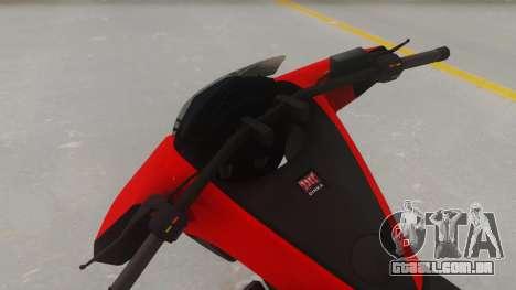 GTA 5 Dinka Vindicator IVF para GTA San Andreas vista direita