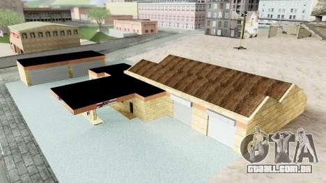 HD Doherty Garage para GTA San Andreas