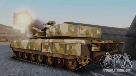 T-100 Varsuk para GTA San Andreas esquerda vista