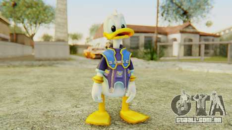 Kingdom Hearts 2 Donald Duck Default v2 para GTA San Andreas segunda tela