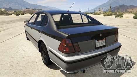 GTA 5 GTA 4 Lokus traseira vista lateral esquerda