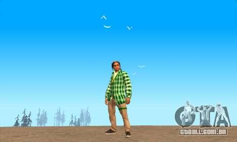 Pele Pak Bosque do Nunca para GTA San Andreas terceira tela