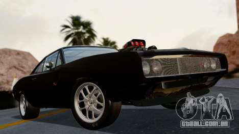 Dodge Charger from FnF4 para GTA San Andreas