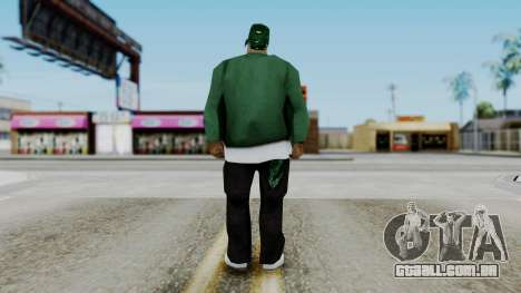 New Fam1 para GTA San Andreas terceira tela