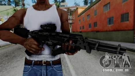 CoD Black Ops 2 - Storm PSR para GTA San Andreas terceira tela