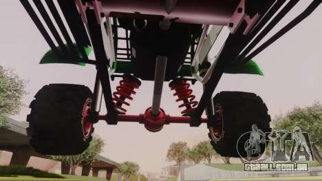 Mudmonster para GTA San Andreas vista interior
