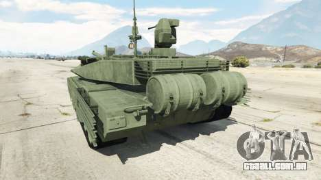 GTA 5 T-90MS voltar vista