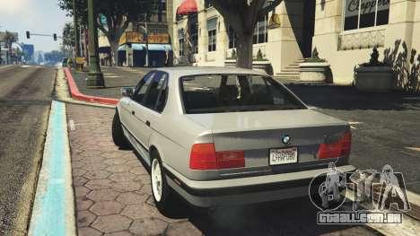 BMW 535i E34 v1.1 para GTA 5