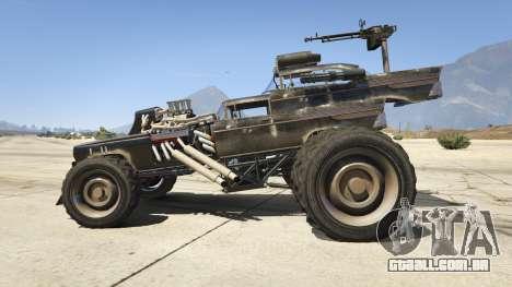 Mad Max The Gigahorse para GTA 5
