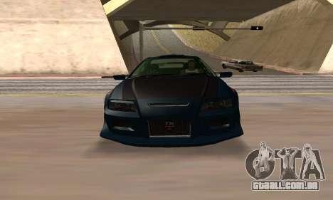 Nissan Skyline R34 Sunray (FlatOut 2) para GTA San Andreas vista direita