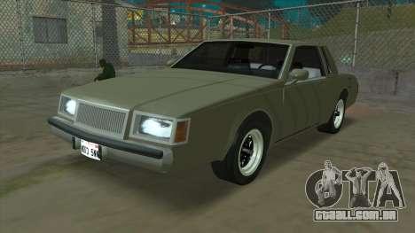 Willard Majestic para GTA San Andreas