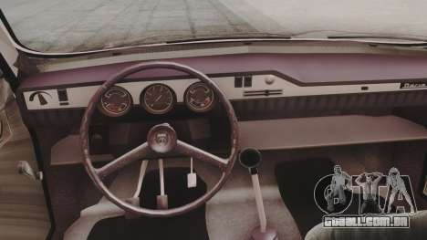 Dacia 1310 1979 para GTA San Andreas vista traseira