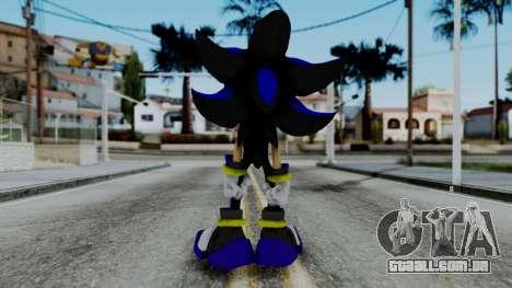 The Hedgehog para GTA San Andreas terceira tela