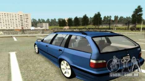 BMW 318i Wagon Touring Wagon para GTA San Andreas esquerda vista