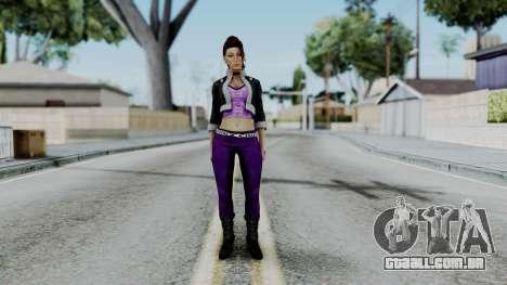 Shaundi from Saints Row para GTA San Andreas segunda tela