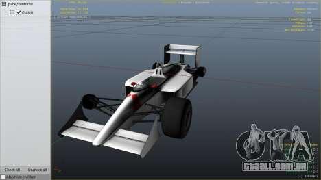 GTA 5 McLaren MP 44 vista lateral direita