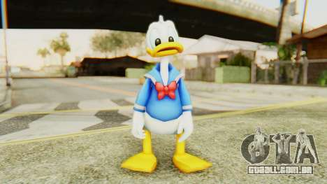 Kingdom Hearts 2 Donald Duck v2 para GTA San Andreas segunda tela