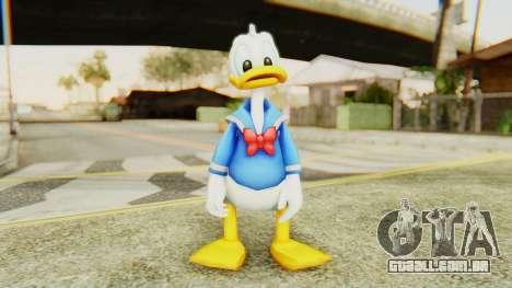 Kingdom Hearts 2 Donald Duck v2 para GTA San Andreas segunda tela