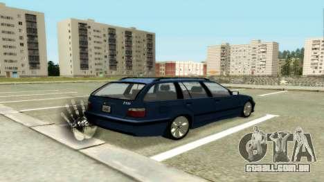 BMW 318i Wagon Touring Wagon para GTA San Andreas vista direita
