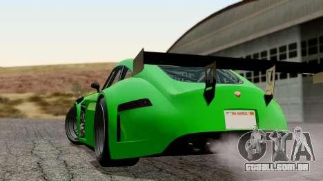 GTA 5 Bravado Verlierer Tuned para GTA San Andreas esquerda vista