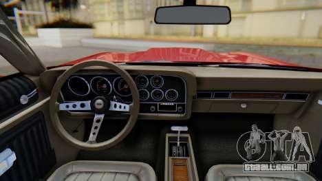 Ford Gran Torino Sport SportsRoof (63R) 1972 PJ1 para GTA San Andreas vista direita