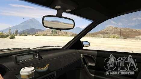 GTA 5 GTA 4 Schafter traseira direita vista lateral