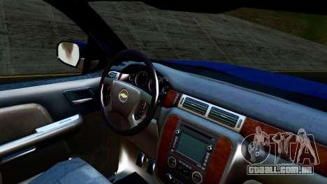 Chevrolet Cheyenne 2012 Dually para GTA San Andreas vista direita