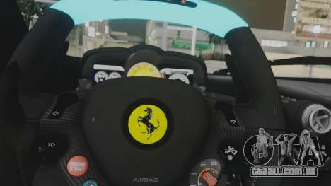 Ferrari LaFerrari TRON Edition v1.0 para vista lateral GTA San Andreas