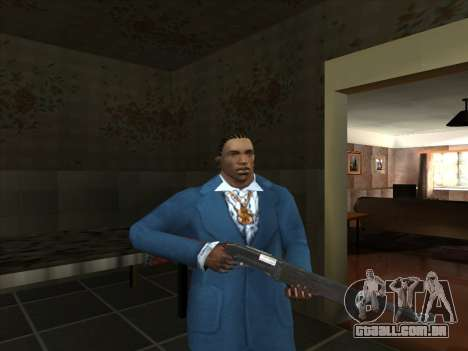 Um conjunto de armas russas para GTA San Andreas sétima tela