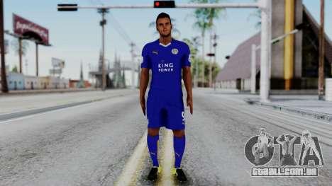 Jamie Vardy - Leicester City 2015-16 para GTA San Andreas segunda tela