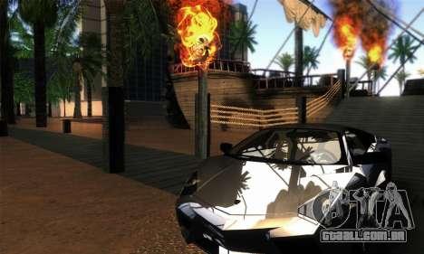EnbUltraRealism v1.3.3 para GTA San Andreas segunda tela