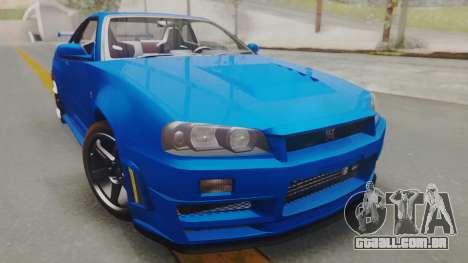 Nissan Skyline GT-R 2005 Z-Tune para GTA San Andreas
