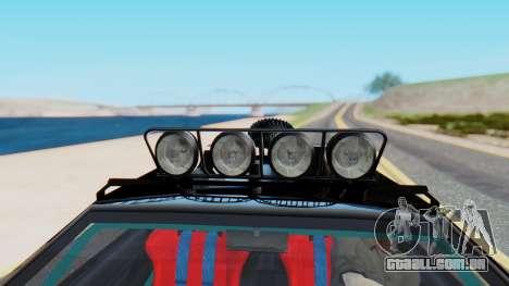 Virgo v3.0 Final para GTA San Andreas vista traseira