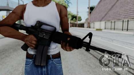 M16 A2 Carbine M727 v1 para GTA San Andreas terceira tela