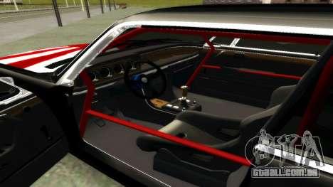 BMW 3.0 CSL JDM Style para GTA San Andreas traseira esquerda vista
