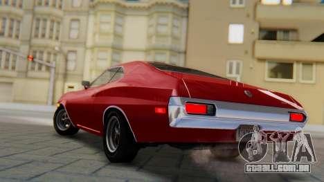 Ford Gran Torino Sport SportsRoof (63R) 1972 PJ1 para GTA San Andreas esquerda vista