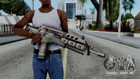 CoD Black Ops 2 - M8A1 para GTA San Andreas terceira tela