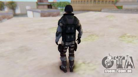The Amazing Spider-Man 2 Game - Soldier para GTA San Andreas terceira tela