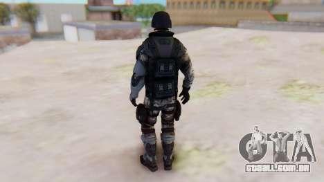 The Amazing Spider-Man 2 Game - Soldier para GTA San Andreas terceira tela