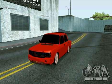 VAZ 2107 Rang Rover Edition para GTA San Andreas