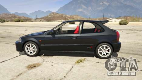 GTA 5 Honda Civic Type-R EK9 vista lateral esquerda
