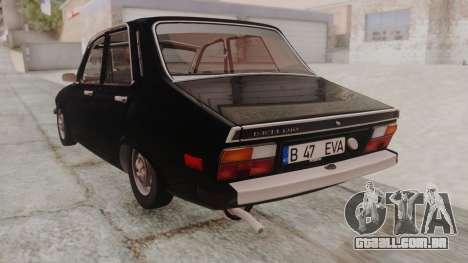 Dacia 1310 1979 para GTA San Andreas esquerda vista