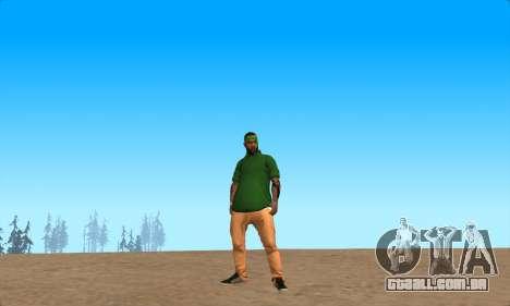 Pele Pak Bosque do Nunca para GTA San Andreas segunda tela