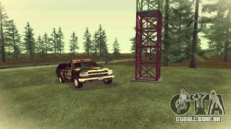 Chevrolet Exterior Camuflagem para GTA San Andreas