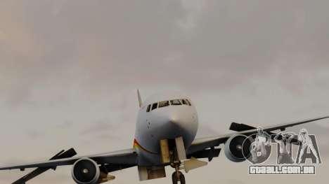 Boeing 767-300ER Hainan Airlines para GTA San Andreas vista direita