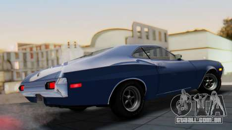 Ford Gran Torino Sport SportsRoof (63R) 1972 IVF para GTA San Andreas esquerda vista