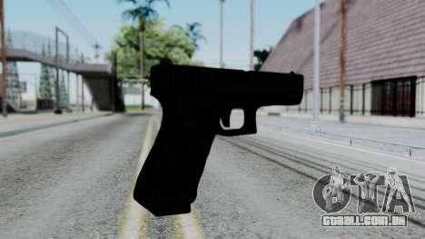 Glock 18 para GTA San Andreas segunda tela