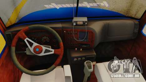 Mack Vision Trailer v3 para GTA San Andreas vista traseira
